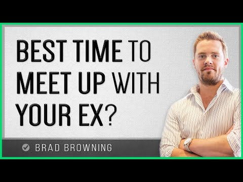 When To Meet Up With Your Ex After A Breakup