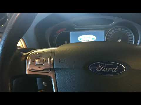 New Ford Mondeo service reset