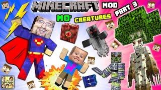 EVIL CHASE ATTACKS! MO' CREATURES MOD Showcase #3: ISLAND of FORBIDDYNESS Bye Bye (FGTEEV Minecraft)