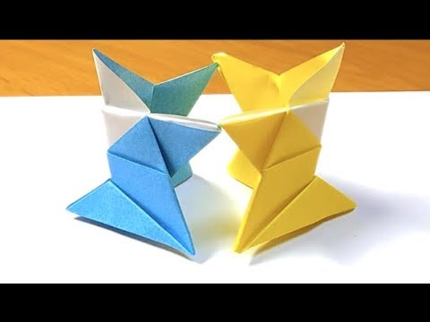 How to make Sumo wrestling (origami)