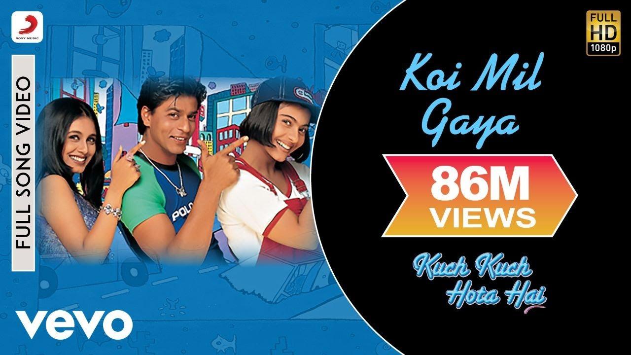 Koi Mil Gaya Full Video - Kuch Kuch Hota Hai Shah Rukh Khan,Kajol, Rani Udit Narayan