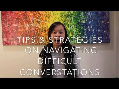 Healthy Relationships Week 3: Having Difficult Conversations
