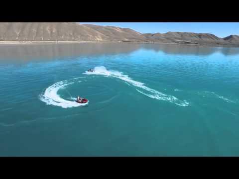 Bear lake Utah Flyover