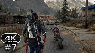 Days Gone Gameplay Walkthrough Part 7 - Days Gone 4K Ultra HD 60FPS PC