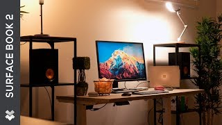 The Ultimate Laptop Setup ft. Microsoft Surface Book 2