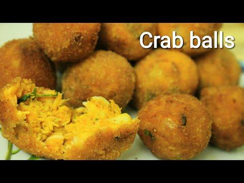 Crab balls - Crab balls recipe - Shell less Crab recipe - Crab recipes - Crab fry - Fried crab