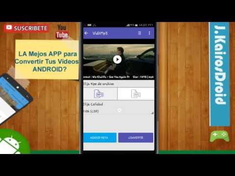 La Mejor  Aplicación Para Convertir TuS Videos en MP3 FULL♣ GRATIS APK DESCARGAR PARA ANDROID