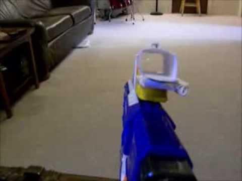 Custom Paper Hybrid Sight (For Nerf Gun)
