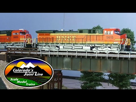 Running Model Trains - Model Railroad Ops Session - BNSF, UP, ATSF, D&RGW, SP & BN