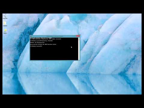 Windows 8: How to flush DNS cache and reset TCIP settings