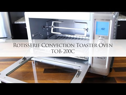 Cuisinart Rotisserie Convection Toaster Oven with Chef Jonathan Collins