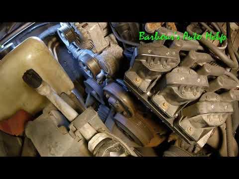 Serpentine Belt Replacement GM 3.8L V-6