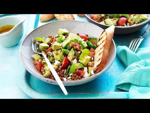 Avocado Lentilicious Salad