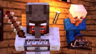 Granny vs Villager Life 3 - Granny Horror Game Minecraft Animation