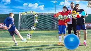 ⚽ MULTI-BALL FOOTBALL CHALLENGE vs SESPO, ENRY LAZZA e TATINO!