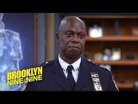 Captain Holt's Emotional Farewell   Brooklyn Nine-Nine