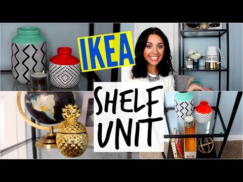 IKEA SHELF UNIT! REVIEW AND STYLING!