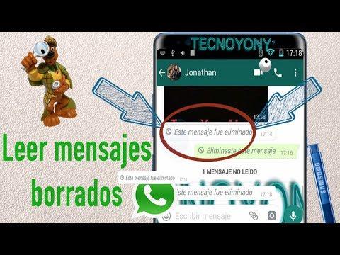 Como leer un Mensaje Borrado de WhatsApp