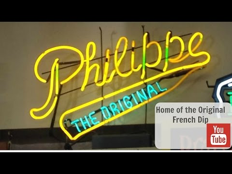Philippe's the Original French Dip Sandwich | Los Angeles, Ca