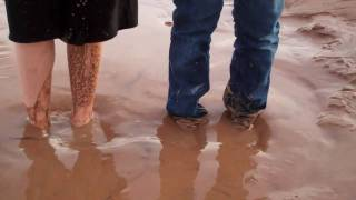Stuck In Quicksand Sinking Sand And Water Quick Sand Girls Hd