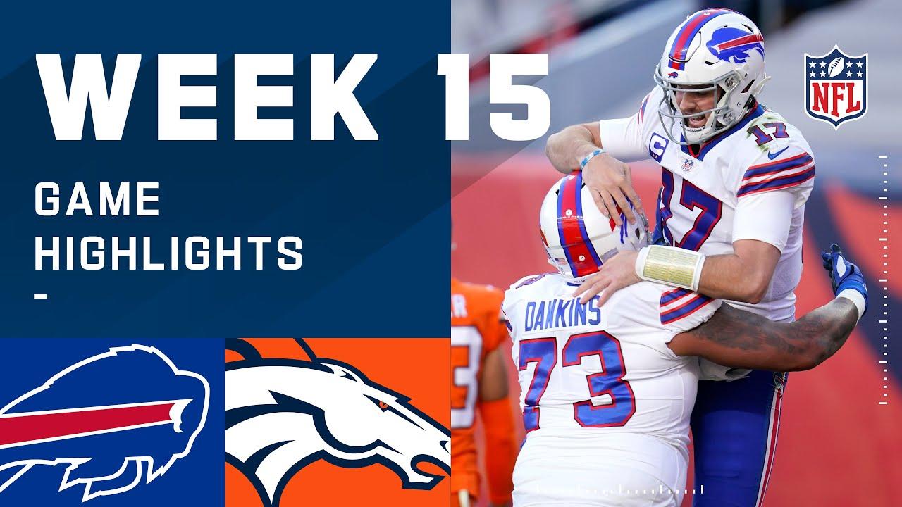 Bills vs. Broncos Week 15 Highlights | NFL 2020