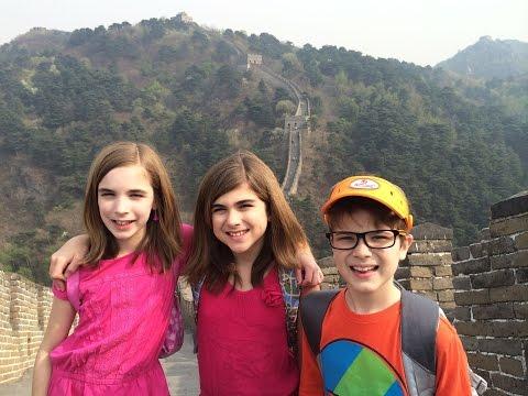 Savannah's China Trip 2014 Part 3: Great Wall, Forbidden City, Century Park