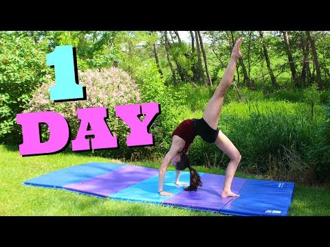 How to get your Back Walkover in ONE Day!