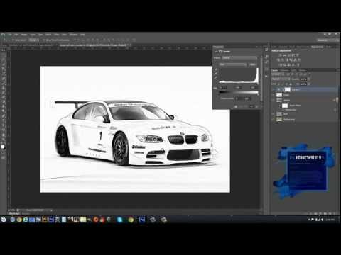 Photoshop CS6 Photograph to Sketch Effect