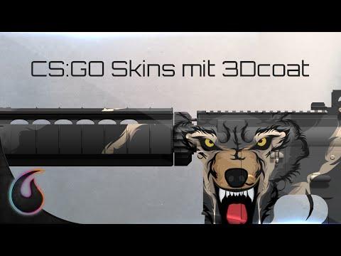 CS:GO Skins mit 3Dcoat | Tutorial | [Full-HD] | Molten Pixel TV