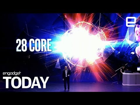 Intel will launch a 28-core 5GHz CPU by the end of the year | Engadget Today