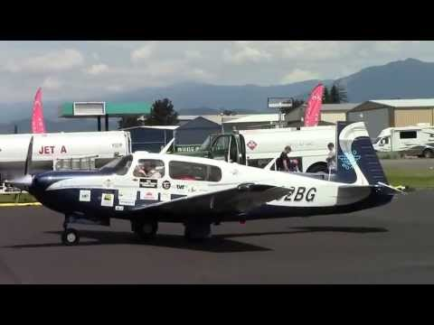 New World Record! Youngest Person to Fly Solo Around the World Takes Off at Arlington, WA 6-29-13