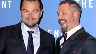 Tom Hardy Loses Tattoo Bet to Leonardo DiCaprio | What's Trending Now