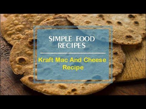 Kraft Mac And Cheese Recipe