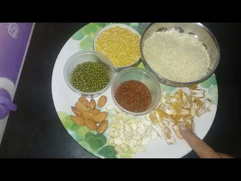 Baby Weight gain food recipe I started  feeding my infant 6 months to 14 months above part1