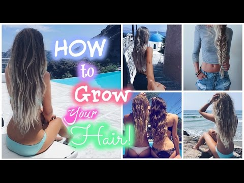 Summer Hair Care Routine // How to Get Long Hair