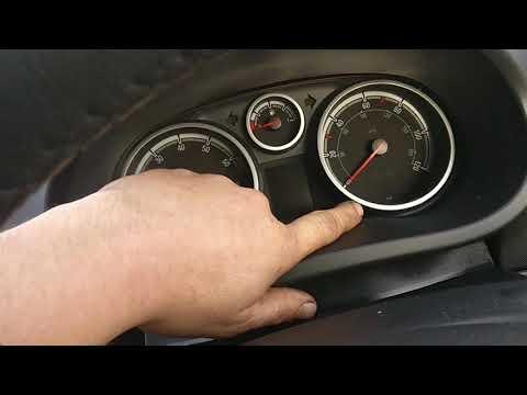 New vauxhall Corsa INSP light reset procedure