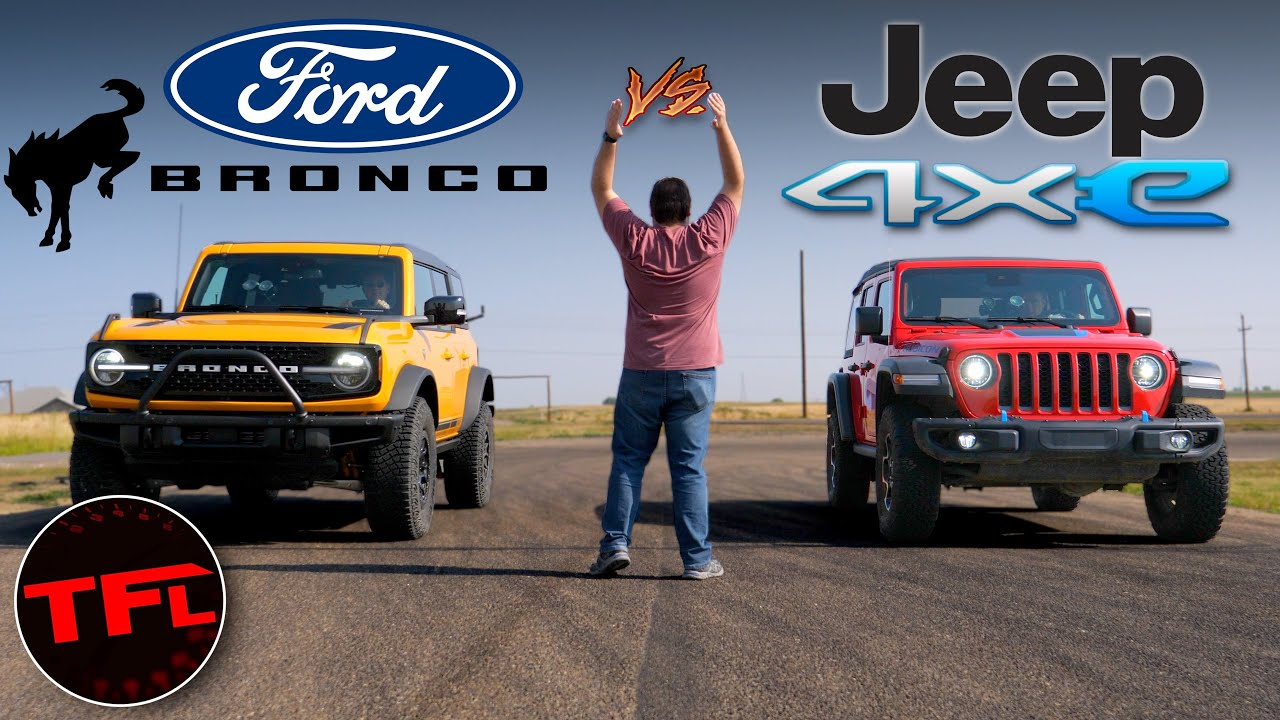 Ford Bronco vs. Jeep Wrangler Drag Race: One Of Them Gets ANNIHILATED!