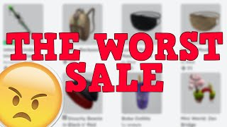The WORST SALE in Roblox HISTORY! (Memorial Day 2020)