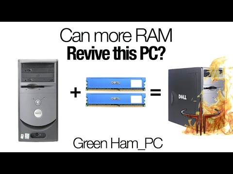 Can adding RAM revive an Old PC?