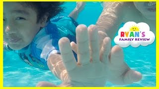 Kid Playtime at the Pool! Family Fun Vacation Disney
