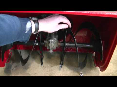 Why The Honda Snowblower Auger Gear Box Broke