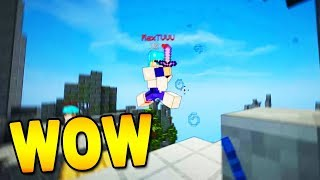 THIS SHADER PACK IS INSANELY GOOD...! (Hypixel Skywars)