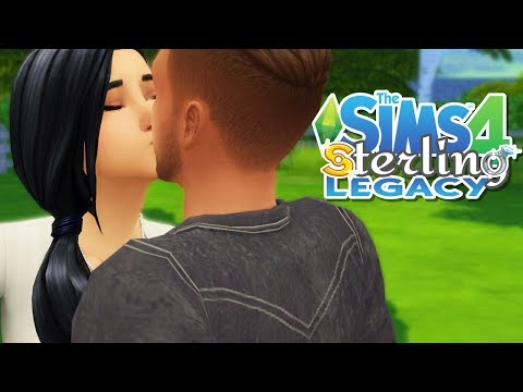 💖 FIRST DATE & FIRST KISS 😘  // The Sims 4 Sterling Legacy | Ep. 6