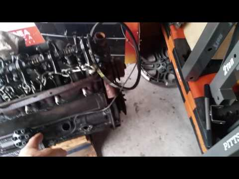 Harbor Freight 2 ton engine hoist build