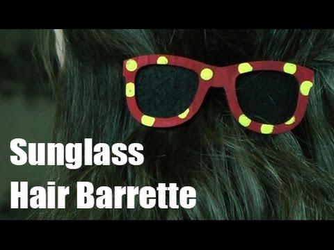 Sunglasses Hair Barrette