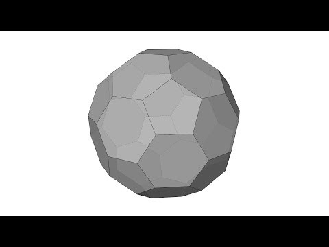 Architectural Geometry Exercise: Buckyball