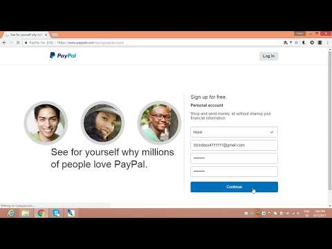 how to create paypal account in nepal 2018 & any country l how to use paypal account -sand & receive