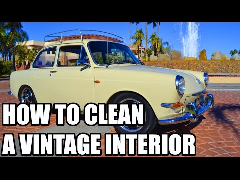How To Clean Vintage Car Interiors - Chemical Guys