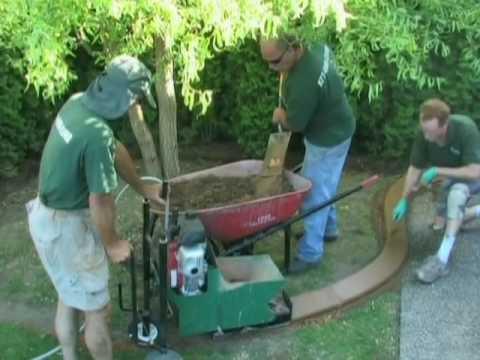 Concrete Curbing - Stamped Concrete Garden Edging