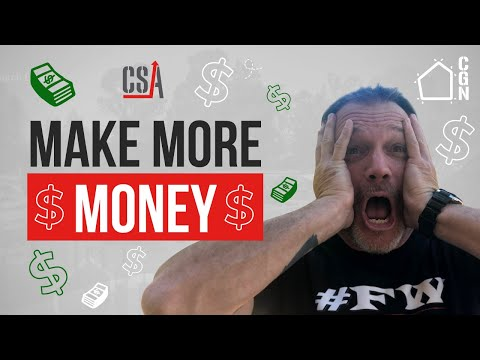 How To Make More Money As A Contractor